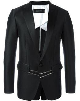 'london Tux' Zipped Jacket