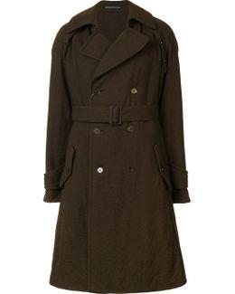 Detachable Sleeve Coat