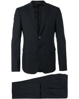 Flap Pockets Two-piece Suit
