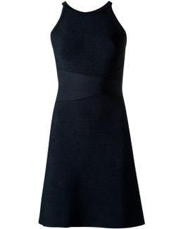 Round Neck Knit Dress