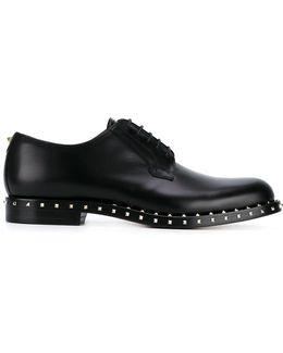 Garavani Micro Rockstud Derby Shoes