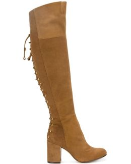 Lace-up Detailing Boots