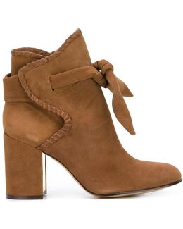 Tied Ankle Boots
