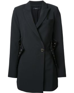 Corset Detail Coat