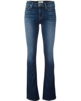 Flared Skinny Fit Jeans