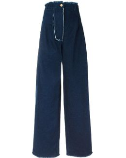 High-rise Wide-legged Jeans