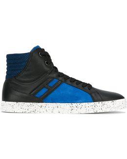 'r141' Hi-top Sneakers