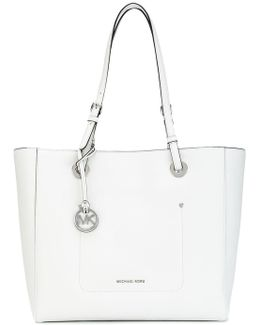Logo Plaque Tote Bag