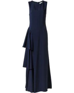 Ruffled Long Dress