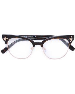 Babe Wire Emblem Glasses