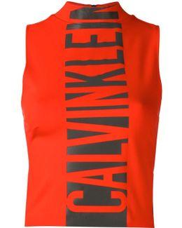 Logo Print Tank Top