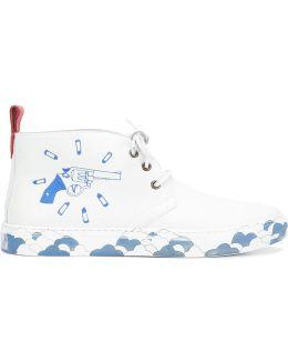 X Eduardo Sarabia Chukka Sneakers