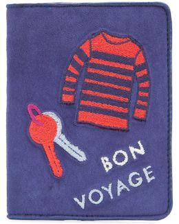 'bon Voyage' Passport Case