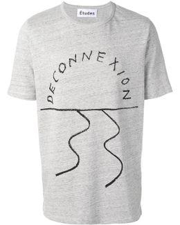 'deconnexion' T-shirt