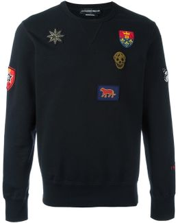 Badge Appliqué Sweatshirt