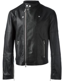 Zip Up Biker Jacket