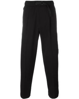 Buckle Fastening Track Pants