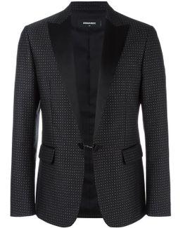 London Tux Dot Pattern Jacket