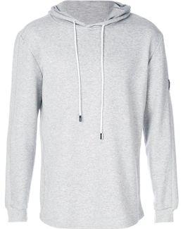 Ribbed Detail Sweatshirt