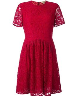 Fit-and-flare Lace Dress