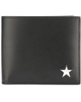 Star Logo Plaque Billfold Wallet