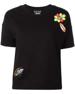 Multiple Appliqués T-shirt