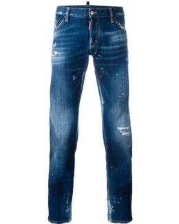 Clement Bleached Distressed Jeans
