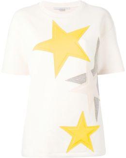 Short Sleeved Star Sweatshirt