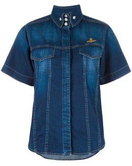 Shortsleeved Denim Shirt