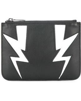 Small Lightning Bolt Wallet