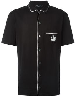 Embroidered Crown Shirt