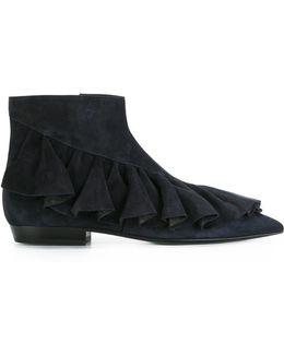 Ruffle Boots