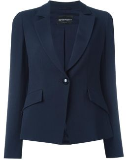 Flap Pockets Blazer