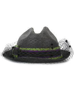 Lace Trim Hat