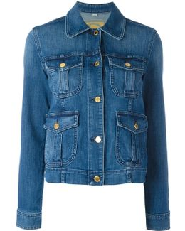 Multiple Pockets Denim Jacket