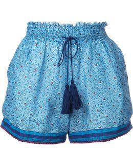 Elasticated Waistband Tassel Shorts