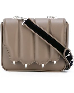 Strap Studded Cross Body Bag