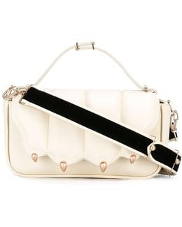Velvet Strap Cross Body Bag