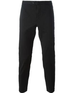 Stripe Appliqué Trousers