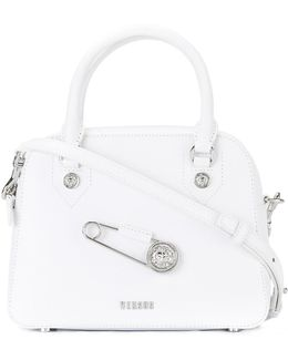 Oversized Pin Detail Tote