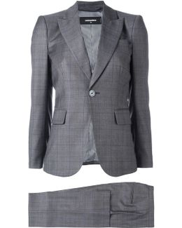 London Checked Three-piece Suit