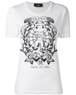 Long Tattoo Graphic T-shirt