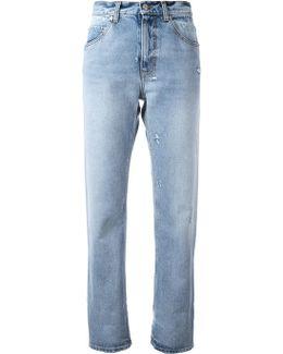 Turn Up Boyfriend Jeans