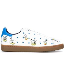 Donald Duck Print Sneakers