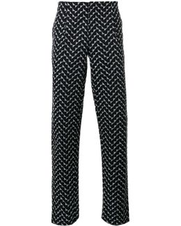 Zigzag Print Trousers