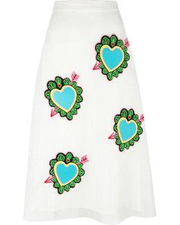 Heart Midi Skirt