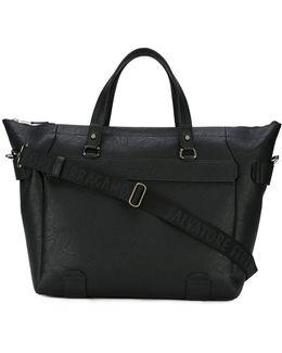 Textured Weekender Bag