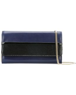 Two-tone Wallet Clutch Bag