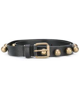 Gold-tone Hardware Belt