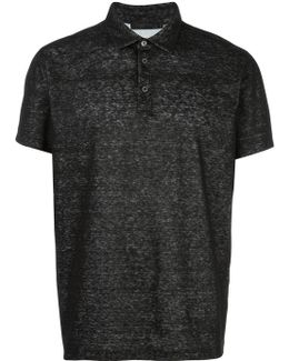 Flocked Polo Shirt